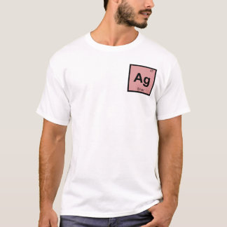 Ag - Silver Chemistry Periodic Table Symbol T-Shirt