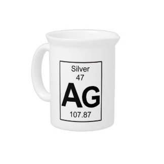 Ag - Silver Drink Pitcher
