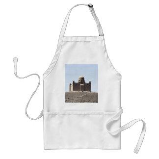 Aga Khan Tomb, Aswan, Egypt Desert Adult Apron