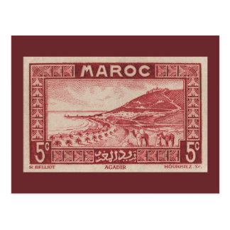 Agadir Marruecos - postal