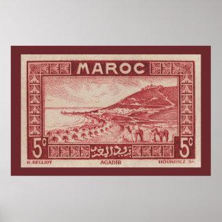 Agadir, Morocco - Poster