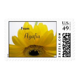 Agafia girls name gift postage