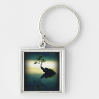 Against All Odds - Beautiful Tree Photograph Keychains