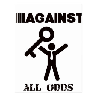 against all odds postcard