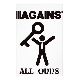 against all odds stationery