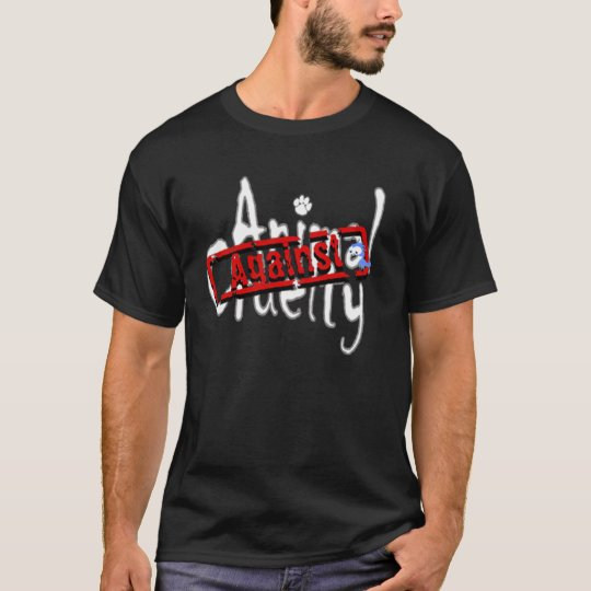 Against Animal Cruelty Dark T-shirt