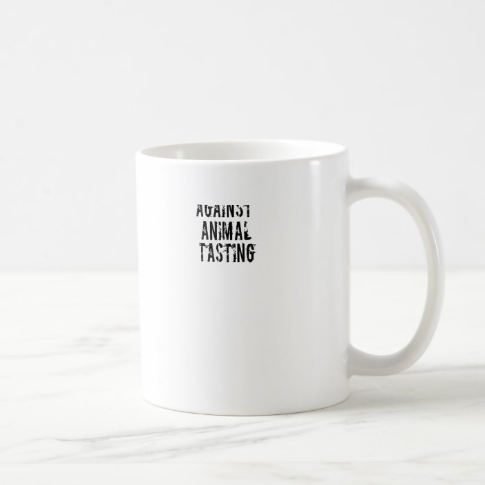 Against Animal Tasting Coffee Mug