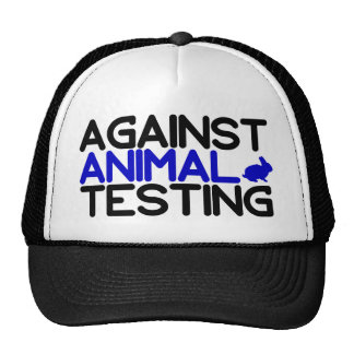 Against Animal Testing Trucker Hat