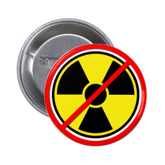 Against Atomic Power! Button