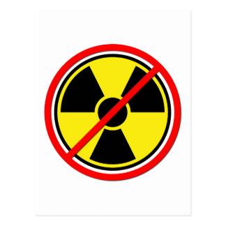 Against Atomic Power! Postcard