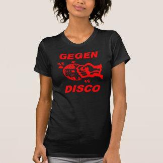 Against disco (talk print) t-shirt