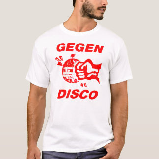 Against disco (talk print) T-Shirt