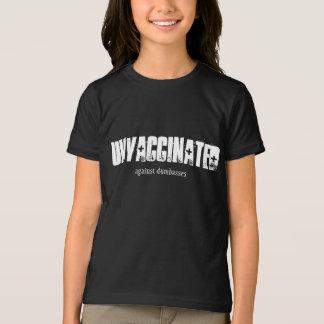Against Dumb People Girls Dark T-Shirt