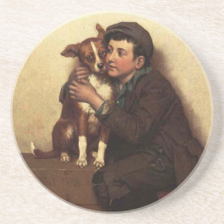 Against His Will, Shoe Shine Boy & Puppy Dog Coaster