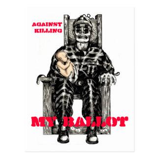 Against Killing Postcard
