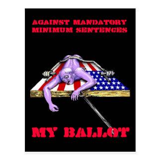 Against Mandatory Minimum Sen... Postcard