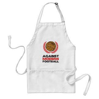 Against Modern Football Adult Apron