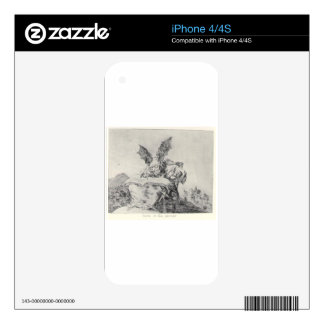 Against the common good by Francisco Goya Skins For The iPhone 4