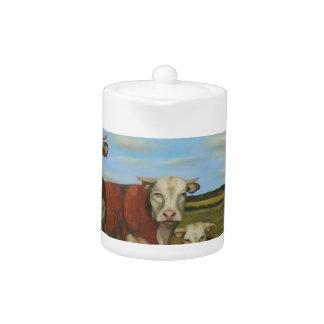Against The Herd Teapot