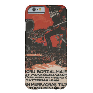Against the horrors Propaganda Poster Barely There iPhone 6 Case