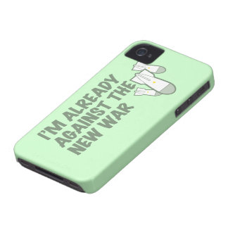 Against the New War iPhone 4 Case