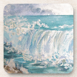 Against the rocks drink coasters