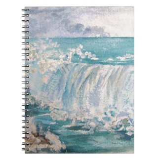 Against the rocks spiral note book