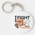 Against Uterine Cancer Key Chains