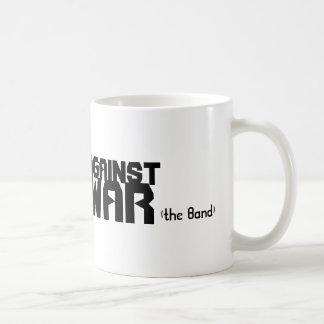 AGAINST WAR, (the Band) Coffee Mug