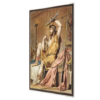 Agamemnon, costume for 'Iphigenia in Aulis' by Jea Gallery Wrapped Canvas