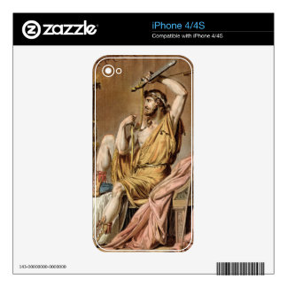 Agamemnon, costume for 'Iphigenia in Aulis' by Jea Skin For iPhone 4