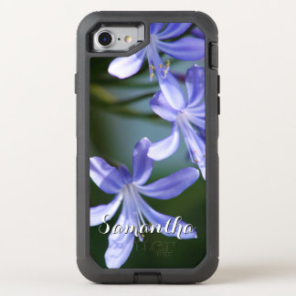 Agapanthus bloom Otterbox phone OtterBox Defender iPhone 8/7 Case
