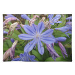 Agapanthus blooms placemats