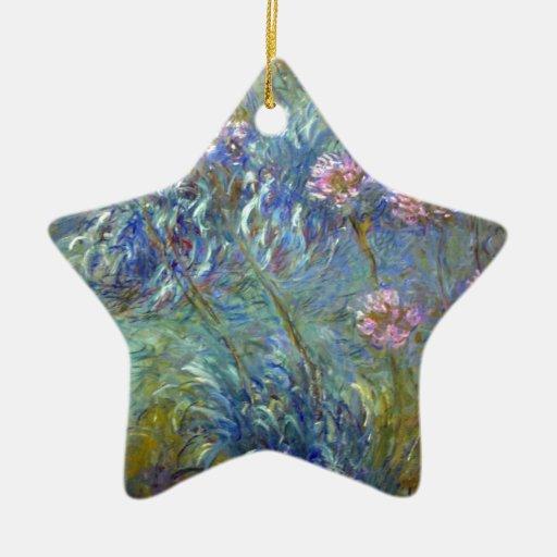 Agapanthus de Claude Monet Adorno De Navidad