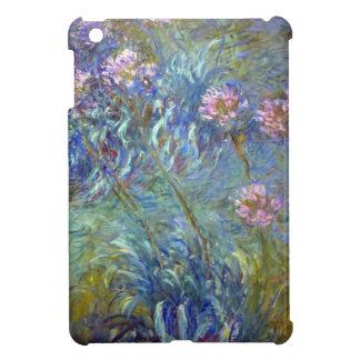 Agapanthus de Claude Monet iPad Mini Carcasas
