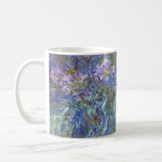 Agapanthus de Claude Monet Taza De Café