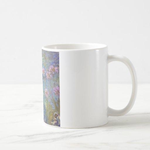 Agapanthus de Claude Monet Tazas De Café