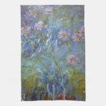 Agapanthus de Claude Monet Toallas
