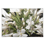 Agapanthus flower in bloom place mat