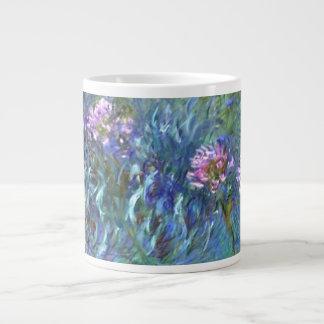 Agapanthus Impressionism Art Mug 20 Oz Large Ceramic Coffee Mug
