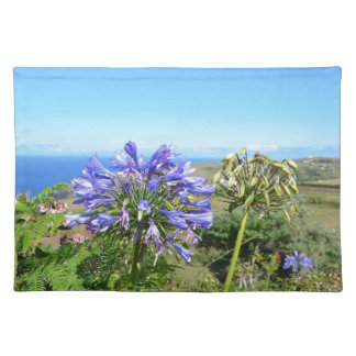Agapanthus in the Azores Place Mat