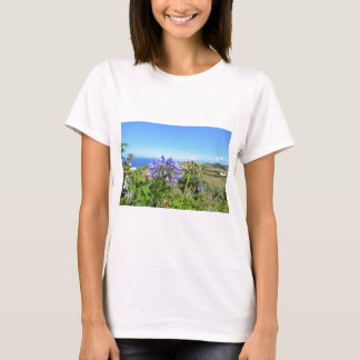 Agapanthus in the Azores T-Shirt