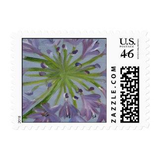 Agapanthus Stamp