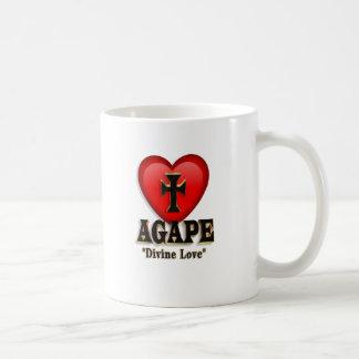 Agape heart symbol for God's divine love Coffee Mug