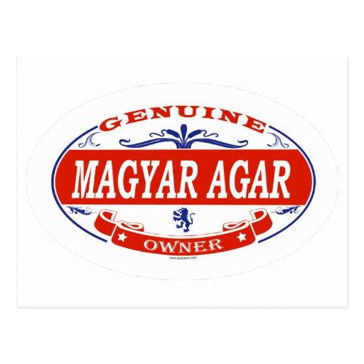 Agar del Magyar Tarjeta Postal