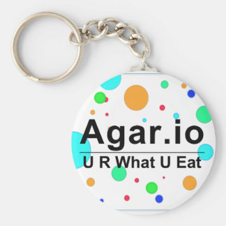 Agar.io Key Ring