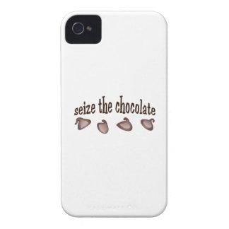 AGARRE EL CHOCOLATE Case-Mate iPhone 4 CÁRCASAS