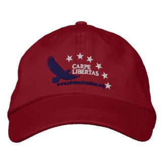Agarre el ROJO del casquillo de libertad Gorra De Beisbol