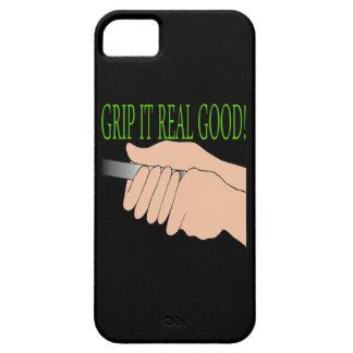 Agárrelo bueno real iPhone 5 fundas