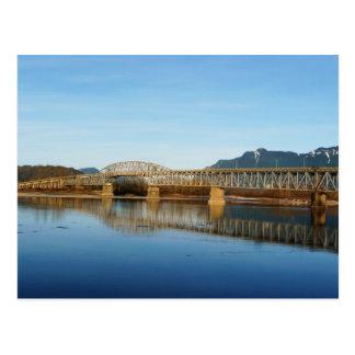 Agassiz Rosedale Bridge Chilliwack BC Postcard